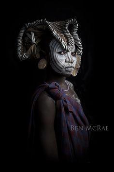 "Africa | ""Mursi girl"" Omo Valley, Ethiopia | ©Ben McRae"