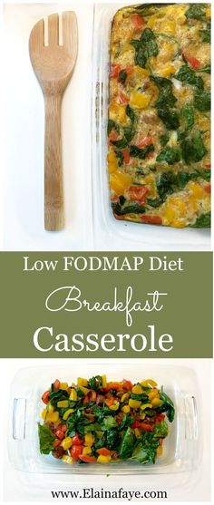 Low Fodmap, gluten free, and dairy free breakfast casserole recipe Breakfast Casserole recipe made with low FODMAP diet friendly ingredients. Easy healthy breakfast made in under 30 minutes. Perfect for meal planning. Healthy Sweet Snacks, Healthy Breakfast Recipes, Healthy Recipes, Healthy Breakfasts, Stay Healthy, Fodmap Recipes, Diet Recipes, Recipes Dinner, Dieta Fodmap