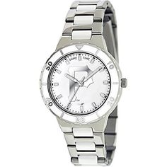 ec8138526 Pittsburgh Pirates Game Time Women s  Pearl  Quartz Metal and Stainless  Steel Casual Watch
