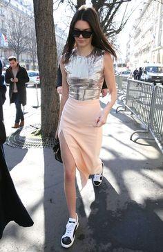Kendall Jenner at #ParisFashionWeek // #style