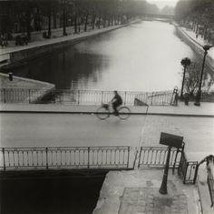 """Paris (1930)""""Le Canal Saint-Martin"""""""