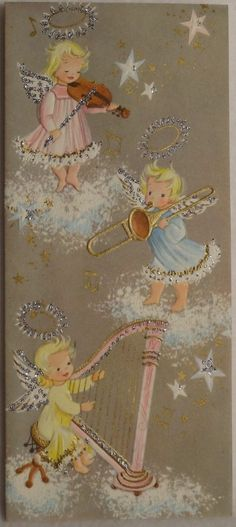 Old Christmas Post Сards — Vintage Greeting Cards, Christmas Greeting Cards, Christmas Greetings, Vintage Postcards, Christmas Post, Retro Christmas, Christmas Angels, Christmas Glitter, Vintage Christmas Images