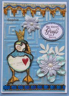 Sophie's Art: Enten-Grüße...