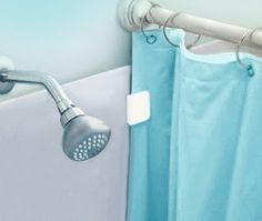 How To Stop Your Shower Curtain From Blowing In Clips And Sealers