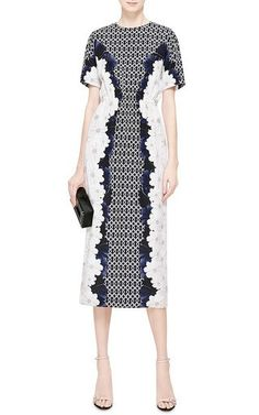 Irvetta Crepe de Chine Printed Dress by Mother of Pearl Now Available on Moda Operandi