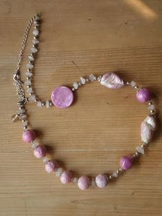 Das (air dry clay) Beads Necklace