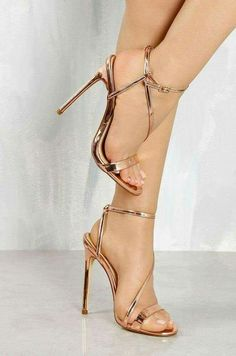 b53a5ab65c5 Head Over Heels By Dune Meryl Rose Gold Heeled Sandals