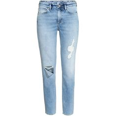 Relaxed Skinny Ankle Jeans 39,99 via Polyvore featuring jeans