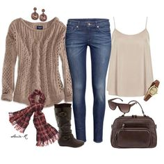 Art On Sun:  Cozy Winter Outfit-Over 40 Fashion