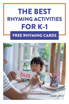 Are you looking for some quick and easy rhyming activities to do with kindergarten and first-grade students to help promote their phonological awareness? In this post, I am sharing some of my favorite rhyming activities including rhyming picture cards and reading poems and nursery rhymes often. In this post, I am sharing a free phonics poem you can use for students to practice fluency and phonics patterns. Use these phonics activities during literacy centers or guided reading groups.