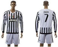 http://www.xjersey.com/201516-juventus-7-zaza-home-long-sleeve-jersey.html 2015-16 JUVENTUS 7 ZAZA HOME LONG SLEEVE JERSEY Only 33.11€ , Free Shipping!