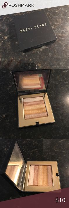 Bobbi Brown shimmer gold brick highlighter Bobby Brown shimmer gold brick highlighter Bobbi Brown Makeup Luminizer