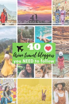 40 Asian Travel Bloggers to Inspire Your Next Vacation