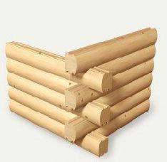 Construcción de cabañas de troncos y madera