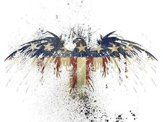 Red, White & Blue Eagle!