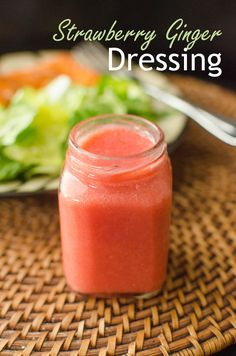 Strawberry Ginger Dressing
