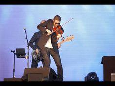 David Garrett begeistert mit seinem Crossover-Konzert in Rüsselsheim. Foto: Torsten Boor
