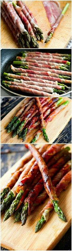Asparagus and Proscuitto