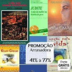 Editora Vozes, Hagnos, Vida Nova, Sinodal, MC - Livros na Promoção Arrasadora com 41% à 77%