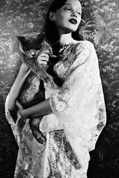 Ranya Mordanova photographed by Esperanza Moya for Tiger Magazine, Fall 2011