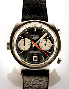 Awesome seventies Heuer Carrera