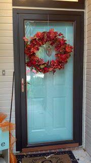 Fix Lovely: How to paint your front door, storm door, and hardware