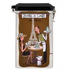 Derriere la Porte Opbergblik Koffie Boîte à Café De Paris marron