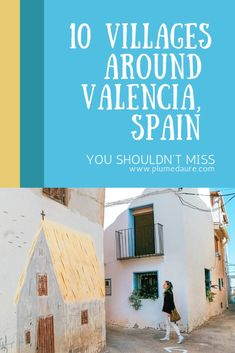 Going to visit Valencia, in Spain, the city of more than 300 days of sun per year ? Here is a guide for all the villages around Valencia you shouldn't miss. Valencia City, Valencia Spain, Madrid, Malaga, Cool Places To Visit, Places To Travel, Spain Culture, Beaux Villages, Spain And Portugal