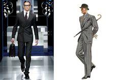 1930s-inspired men's fashion