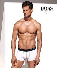 Garrett Neff fronts Hugo Boss Bodywear SS 2015 Campaign