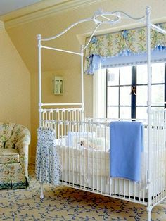 You won't want to miss our adorable yellow baby room. Get more decorating ideas at http://www.CreativeBabyBedding.com