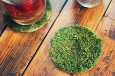 Spring inspired coasters