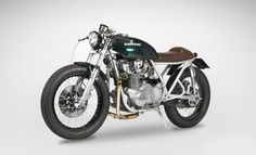 Elegant and classic. #Kawasaki KZ750 Cafe Racer‬ by Motomato #caferacer #motorcycles #motos | caferacerpasion.com