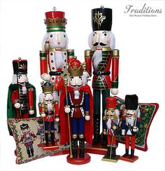 Nutcracker ornaments and decor for the Nutcracker Suite collector by Christmas Traditions