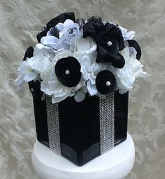Silk Floral Gift Box Centerpiece Bling and by SilkFloralsbyCandice, $40.00