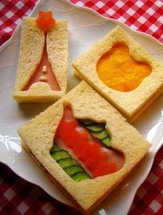 De leukste manieren om je broodjes te serveren vind je hier! Je kunt er met gemak een waar kunstwerk van maken! Heel tof!