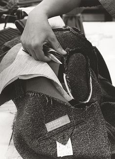 Atelier couture, sewing, Fashion atelier, MARGARET HOWELL - AW13 CAMPAIGN