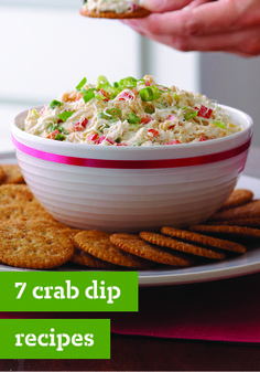 7 Crab Dip Recipes – Hot crab dips. Cold crab dips. When it comes to creamy crab dip appetizer recipes, you can't go wrong with either! And trust us, no one would mind if you served both at your holiday party.
