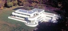 Richard H. Mandel House, Mount Kisco NY (1933) | Edward Durell Stone