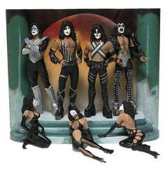 "McFarlane Rock 'n Roll Series: KISS ""Love Gun"" Deluxe 2004 Boxed Edition $250.99"