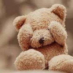 Afbeeldingsresultaat voor sad teddy bear