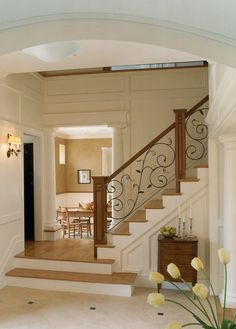 Wrought Iron Bannisters Design, Pictures, Remodel, Decor and Ideas - page 4