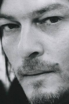 The Reedus, perfect face.