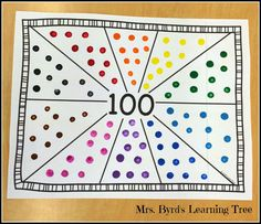 Mrs. Byrd's Learning Tree: 100 Days of School!