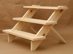 3Tier Display Shelf / Display Shelves/ Store Display / by USAVECO, $42.00