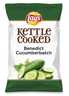 Wouldn't Benedict Cucumberbatch be yummy as a chip? Lay's Do Us A Flavor is back, and the search is on for the yummiest flavor idea. Create a flavor, choose a chip and you could win $1 million! https://www.dousaflavor.com See Rules.