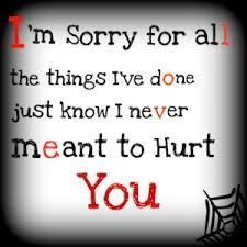 I'm sorry. we really can't be anything more than friends for a while. it hurts me so much but I think for now, it's for the best. I'm sorry Garrett. Forgive Me Quotes, Hurt Quotes, Quotes For Him, Be Yourself Quotes, Love Quotes, Inspirational Quotes, Motivational, Emo Quotes, Night Quotes