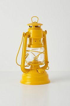 Glass Globe Oil Lantern from Anthropologie. Saved to everything i want. Shop more products from Anthropologie on Wanelo. Old Lanterns, Vintage Lanterns, Home Deco, Moonrise Kingdom, Mellow Yellow, Mustard Yellow, Oil Lamps, Glamping, Color Inspiration