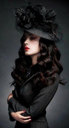 goth gothic fashion  style black women lady girl women https://www.facebook.com/alternativestylepolska: