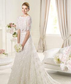 Pronovias te presenta el vestido de novia Magots. Elie by Elie Saab 2013. | Pronovias